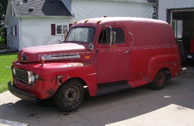 1940 Ford Panel Truck For Sale