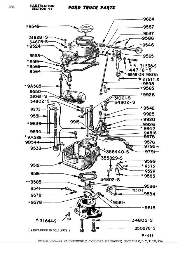 motorcraft 2150 vacuum lines diagram