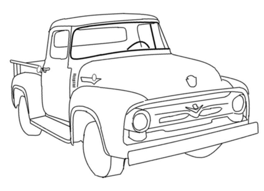 1993 Ford Bronco 5 8 Engine Diagram likewise 71 Chevy Pickup Wiring Diagram also 1972 Ford Ranchero Wiring Diagrams further 99 Subaru Forester Thermostat Location also Big Ford Trucks Coloring Pages Sketch Templates. on lifted f100