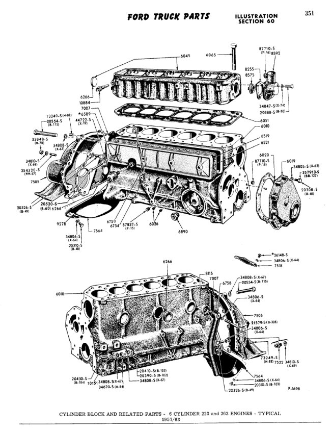 Ford Straight 6 Engine Diagram - Schematic wiring diagramcamelotunchained.it