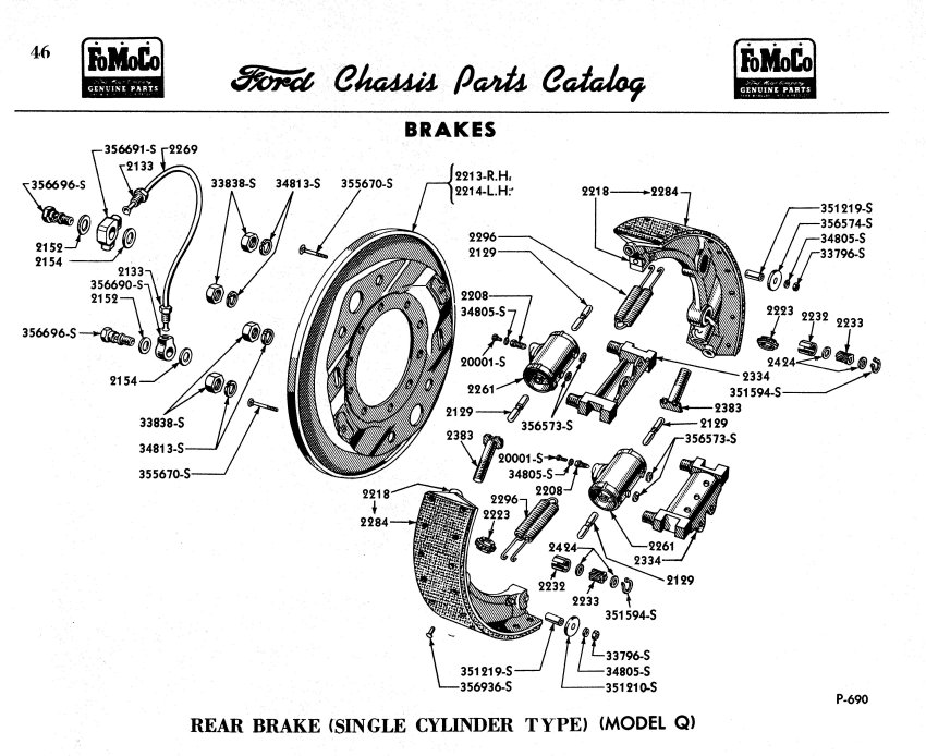 need banjo fitting for rear drum on 1951 f-7