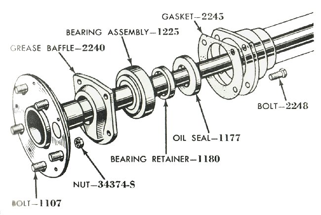 diagram 1994 ford f 150 rear axle components