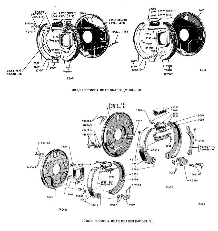 1948 ford f1 parts catalog