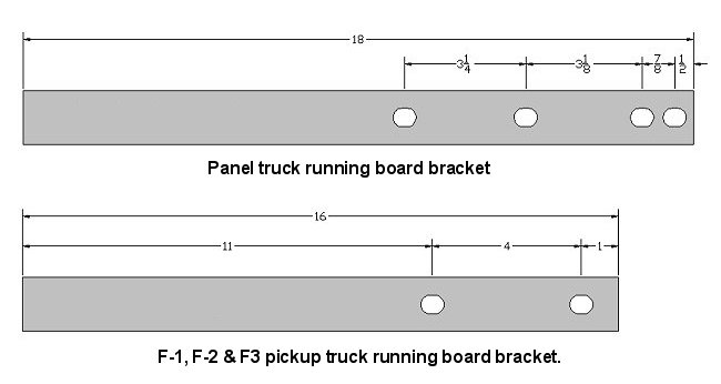 Running Board Brackets