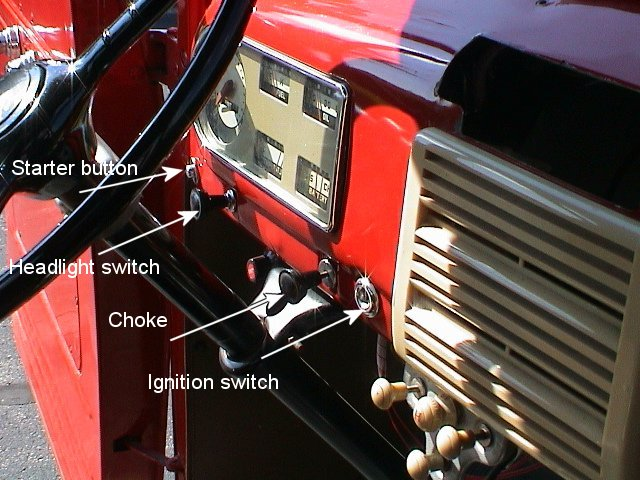 48 F1 Dash Controls Ford Truck Enthusiasts Forums