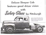 '50 Ford sleeper ad