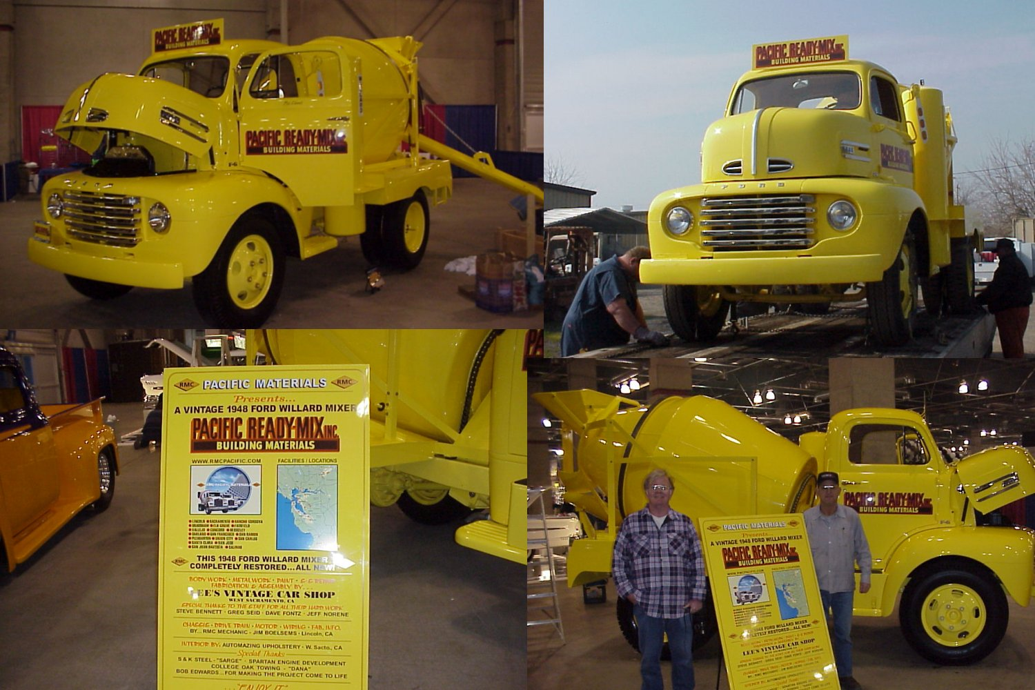 Welcome To 1948 Ford Semi Truck Coe Cement Mixer